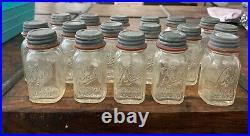 Rare One (1) Antique Miniature Salesman Sample Ball Perfect Mason Jar