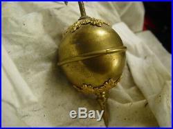 Rare Original Antique Ansonia Huntress Swinging Mystery Clock
