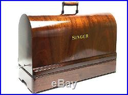 Restored 1920-30s SINGER Sewing Machine Bentwood Case Full Size by 3FTERS