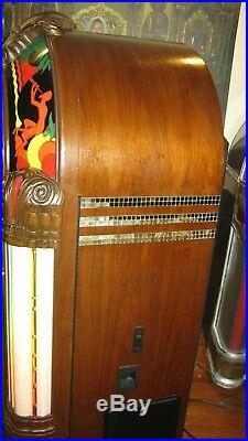 Rock-Ola Antique Apparatus wurlitzer 950 Gazelle 100 Cd Bubbler Jukebox CD4GZB