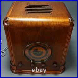 Sparton Radio Model 537 (1937) antique radio AM/Shortwave