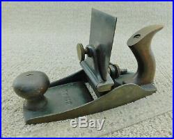 Stanley # 112 Scraper Plane with Sweetheart Era Cutter Good Condition Antique Tool