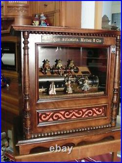 Station Music Box antique
