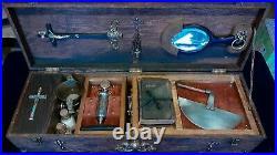Vampire Killing Hunter Hunting Slayer Slaying kit, Antique, Oddity Gothic magic