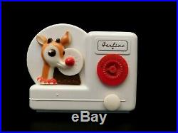 Vintage 1950 Rudolph The Red Nosed Reindeer Restored Antique Radio & Working