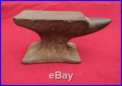 Vintage/Antique Small 14 Lb 6 oz. Blacksmith/Knife Makers Anvil WithHorn, 9 Long