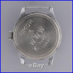 Vintage Timor Dirty Dozen British WWW Military Watch 1945