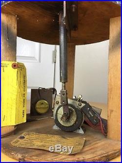 Vtg Antique Automata Automaton Window Store Art Display Mechanical Girl Doll Toy