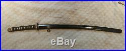 WWII Shin Gunto Katana Japanese Army Officer's Samurai Sword Antique Seki 1935